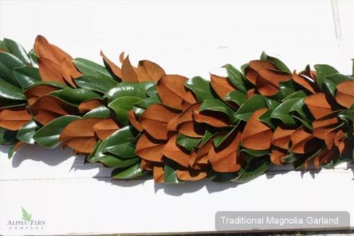 Traditional Magnolia Garland $9.95 per foot